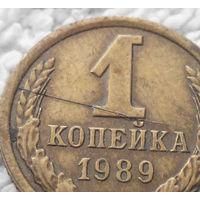 1 копейка 1989 СССР #11 БРАК