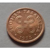 5 пенни, Финляндия 1974 г.