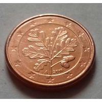 1 евроцент, Германия 2010 A, D, AU