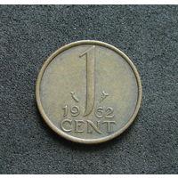 Нидерланды 1 цент 1962