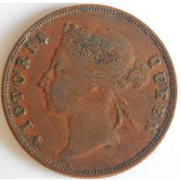 15. Стрейтс-Сетлментс, 1 цент 1901 год. Виктория