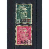 Fr Франция Колонии Алжир 1945 Надп