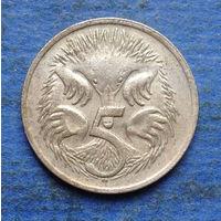Австралия 5 центов 1972 редкость