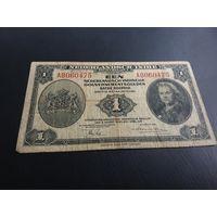 Голландская Индия 1 рупия 1943 год