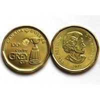 Канада 1 доллар 2012 Кубок Грей футбол UNC