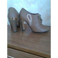 Туфли женские осенние закрытые