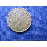 Гонконг.10 центов 1979г.