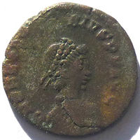 РИМ. ФЕОДОСИЙ I ВЕЛИКИЙ (379-395 г.) НИКОМЕДИЯ. AE4.
