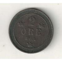 Швеция 2 эре 1874