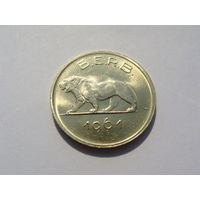 """Руанда - Бурунди 1 франк 1961 год """"ЛЕВ"""" KM#1"""