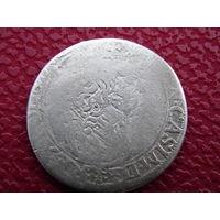 6 Грошей ( Шестак ) 1666 г.