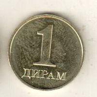 Таджикистан 1 дирам 2019