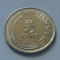 5 центов, Сингапур 1976 г., AU