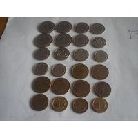 Польша - 24 монеты цена за все.