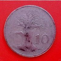 37-22 Зимбабве 10 центов 1980 г.