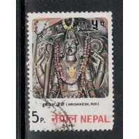 Марка Непал искусство
