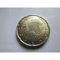 20 евроцентов, Эстония 2011 г.