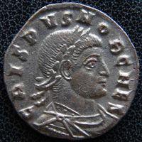 YS: Древний Рим, Крисп, медный фоллис 317-326 н.э., монетный двор Рима (RT)