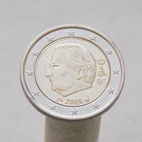 Бельгия 2 евро 2008 ( 2-й тип )