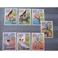 Гвинея- Биссау.1984. Олимпиада. Лос-Анжелес-84. Медалисты