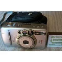 Canon Prima Zoom 90u,состояние нового,с чехлом Case Logic!