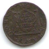 Деньга 1775 года КМ Сибирь_состояние VF