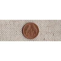 ЮАР 1 цент 1996/фауна/(Uss)