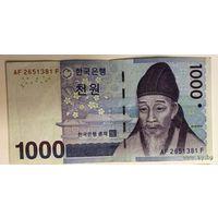 Южная Корея, 1000 вон