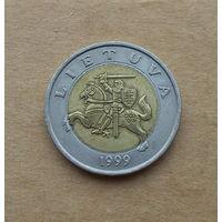 Литва, 5 литов 1999 г.