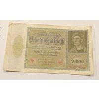 Старт с 1 рубля. 10000 марок 1922год.