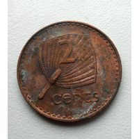 2 цента Фиджи 1987 года - из коллекции