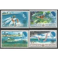 Кайманы. Международный год туризма. 1967г. Mi#194-97. Серия.