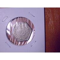 Египет 2 пиастра 1944г. серебро  *