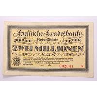 Германия (Darmstadt), 2 000 000 марок 1923 год