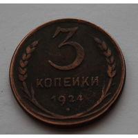3 копейки 1924