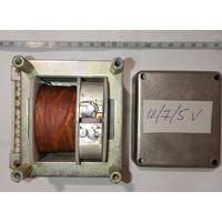 Трансформатор экранированный 220\12-7-5В