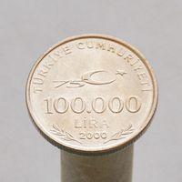 Турция 100000 лир 2000 Мустафа Кемаль