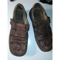 Ботинки для мальчика 33. Марко, кожа