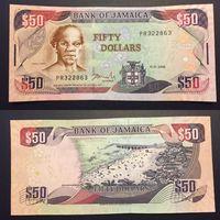 Ямайка. 50 долларов 2010. [UNC]