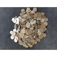 Монеты СССР (1,2,3,5,10,15,20,50 коп., 1 руб.) - 425 шт.