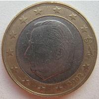 Бельгия 1 евро 2002 г.