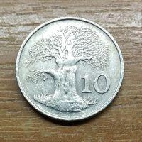 Зимбабве 10 центов 1980 _Продажа коллекции