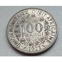Западная Африка (BCEAO) 100 франков, 1971 8-10-9