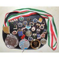 Спортивные значки и медали