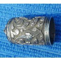 Серебряная крышка от Газаря. (чернение)