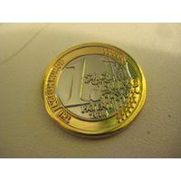 Монетка на счастье!!! 1 Евро Patent-Impatent