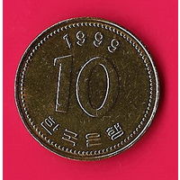 42-14 Южная Корея, 10 вон 1999 г.
