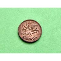 1 цент 1943 года