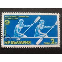 Болгария 1977 гребля