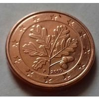 1 евроцент, Германия 2009 F